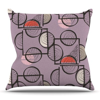 Emmanuel by Gill Eggleston Outdoor Throw Pillow