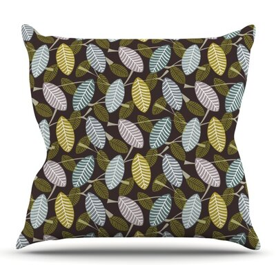 Moss Canopy by Julie Hamilton Outdoor Throw Pillow