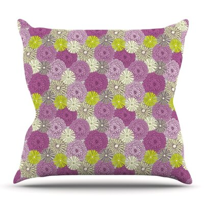 Rhapsody by Julie Hamilton Outdoor Throw Pillow
