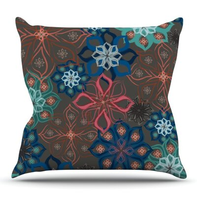 Floral Arrangements by Jolene Heckman Outdoor Throw Pillow