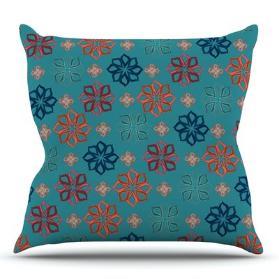 Mini by Jolene Heckman Outdoor Throw Pillow