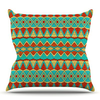 Tribal Soul by Pom Graphic Design Outdoor Throw Pillow
