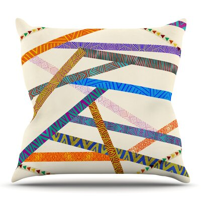 Unparalleled by Pom Graphic Design Outdoor Throw Pillow