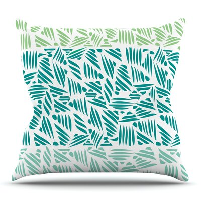 Bamboo by Pom Graphic Design Outdoor Throw Pillow