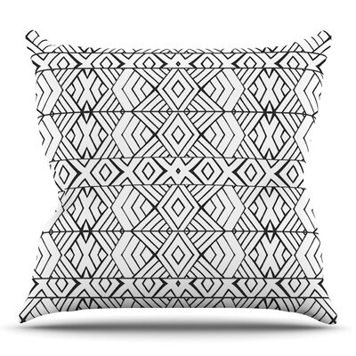 Tribal Expression by Pom Graphic Design Outdoor Throw Pillow