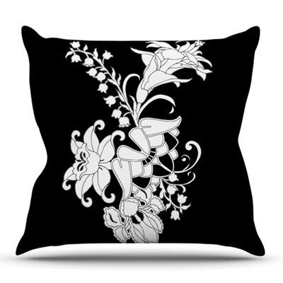My Garden by Vikki Salmela Outdoor Throw Pillow