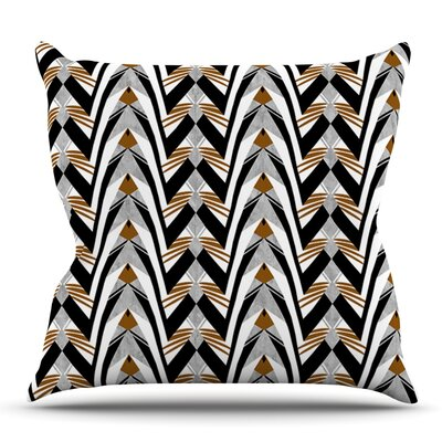 Wings by Vikki Salmela Outdoor Throw Pillow