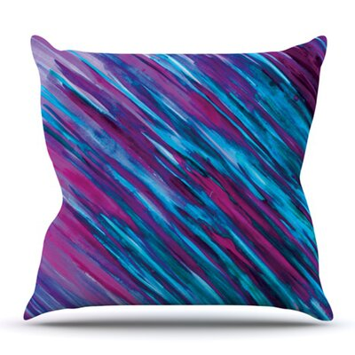 Set by Theresa Giolzetti Outdoor Throw Pillow Color: Purple