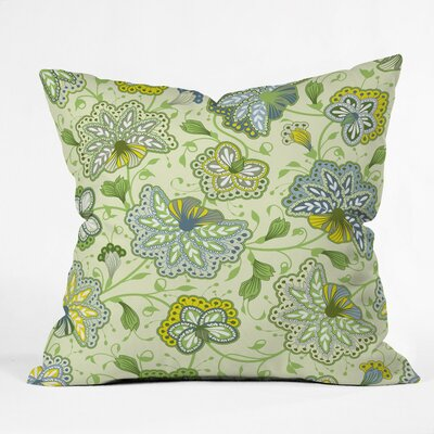 Colors Of The Wind Polyester Throw Pillow Size: 18 H x 18 W x 5 D