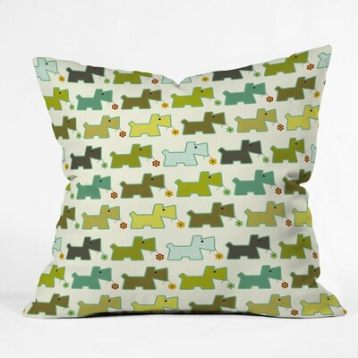 Toby Polyester Throw Pillow Size: 16 H x 16 W x 4 D