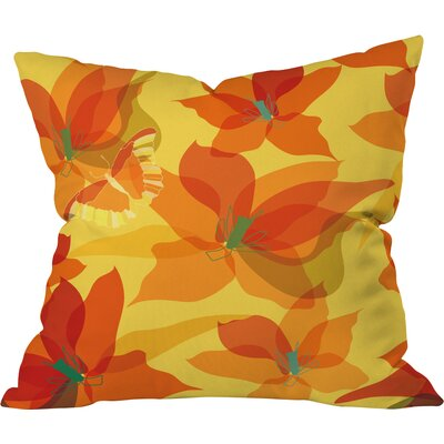 Polyester Throw Pillow Size: 26 H x 26 W x 7 D
