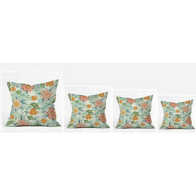 Polyester Throw Pillow Size: 20