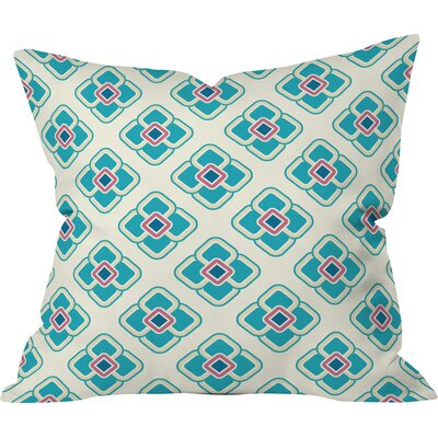 Sabine Reinhart Dawning Of The Day Polyester Throw Pillow Size: 16 H x 16 W x 4 D