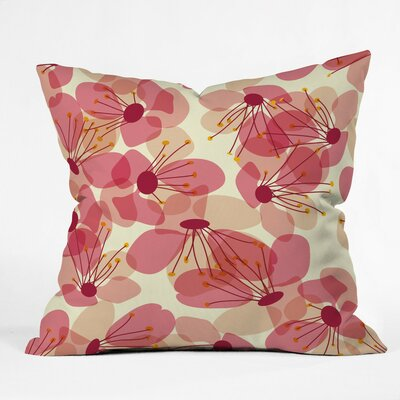 Sabine Reinhart Voices On The Veranda Polyester Throw Pillow Size: 20 H x 20 W x 6 D