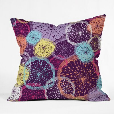 Wheel Of Wonder Polyester Throw Pillow Size: 16 H x 16 W x 4 D