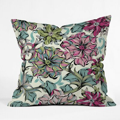 Sabine Reinhart Enchanted Journey Polyester Throw Pillow Size: 26 H x 26 W x 7 D