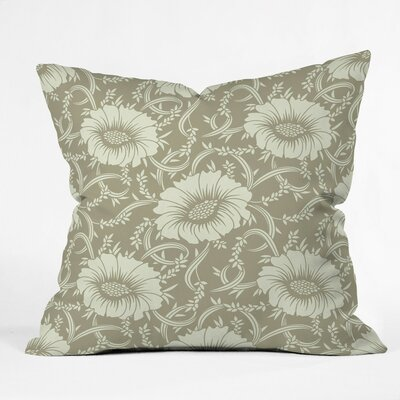 Floral Dream Polyester Throw Pillow Size: 26 H x 26 W x 7 D