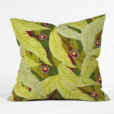 Polyester Throw Pillow Size: 16 H x 16 W x 4 D