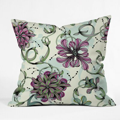 Polyester Throw Pillow Size: 18 H x 18 W x 5 D