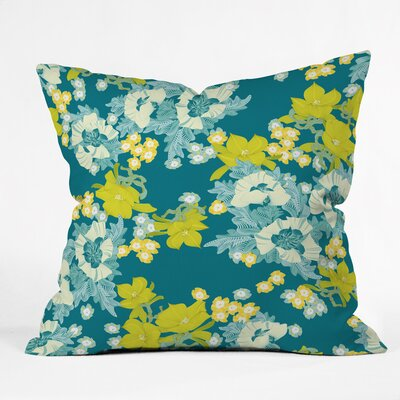 Polyester Throw Pillow Size: 20 H x 20 W x 6 D