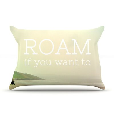Roam by Alison Coxon Featherweight Pillow Sham, Ocean
