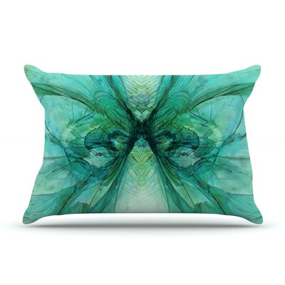 Butterfly by Alison Coxon Cotton Pillow Sham