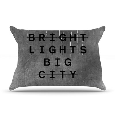 Bright Lights by Alison Coxon Cotton Pillow Sham