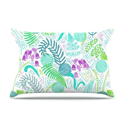 Fern Forest by Anneline Sophia Cotton Pillow Sham