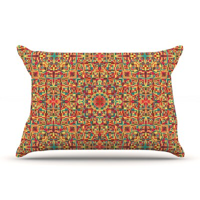 Circus by Allison Soupcoff Cotton Pillow Sham