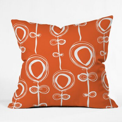 Contemporary Polyester Throw Pillow