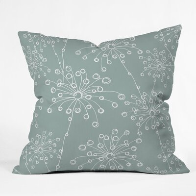 Quirky Motifs Polyester Throw Pillow