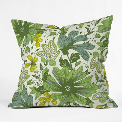 Sabine Reinhart First Sunray Polyester Throw Pillow Size: 26 H x 26 W x 7 D