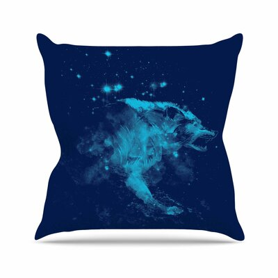 Predation Instinct II by Frederic Levy-Hadida Throw Pillow Size: 26 H x 26 W x 5 D
