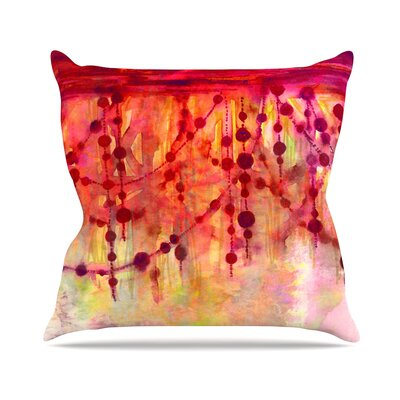Prismacolor Pearls Throw Pillow Size: 18 H x 18 W x 3 D