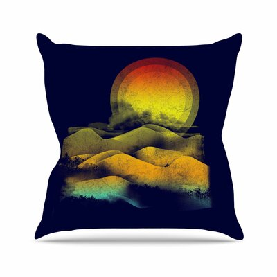 Sunset by Frederic Levy-Hadida Throw Pillow Size: 16 H x 16 W x 3 D