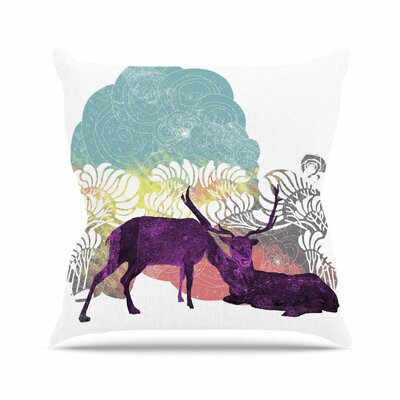 Tenderness by Frederic Levy-Hadida Throw Pillow Size: 26 H x 26 W x 5 D