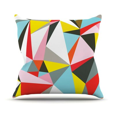 Mosaik by Fimbis Throw Pillow Size: 16 H x 16 W x 3 D