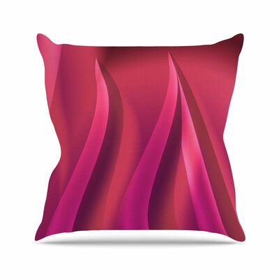 Petals by Fotios Pavlopoulos Throw Pillow Size: 18 H x 18 W x 3 D
