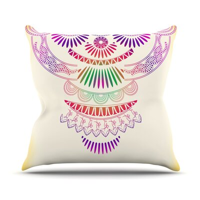 Decorative Ornament by Famenxt Throw Pillow Size: 18 H x 18 W x 3 D