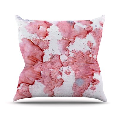Splashes Throw Pillow Size: 26 H x 26 W x 5 D
