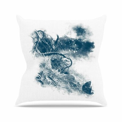 No Escape by Frederic Levy-Hadida Throw Pillow Size: 16 H x 16 W x 3 D