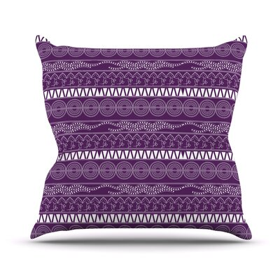 Pattern by Famenxt Throw Pillow Size: 18 H x 18 W x 3 D