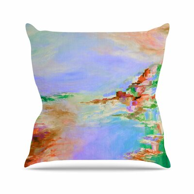 Something About the Sea 3 Throw Pillow Size: 18 H x 18 W x 3 D