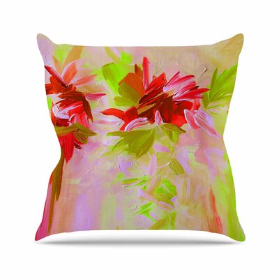 Deconstructing the Garden 2 Throw Pillow Size: 26 H x 26 W x 5 D