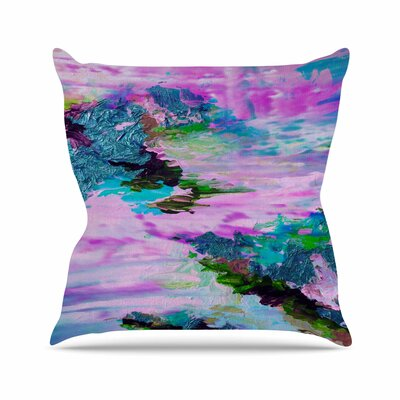 On Cloud Nine - 4 Throw Pillow Size: 16 H x 16 W x 3 D