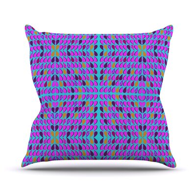 Optical Throw Pillow Size: 18 H x 18 W x 3 D