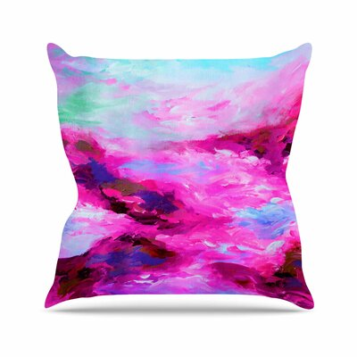Taken by the Undertow 4 Throw Pillow Size: 18 H x 18 W x 3 D