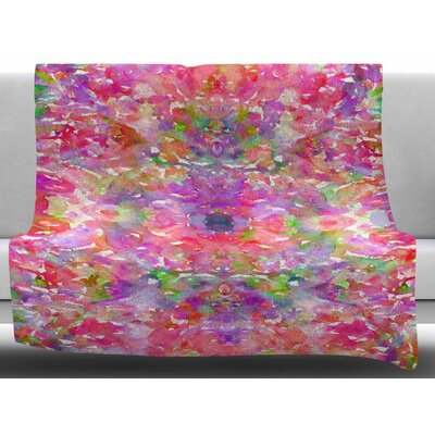 Jewel In The Crown by Ebi Emporium Fleece Blanket Size: 50 W x 60 L