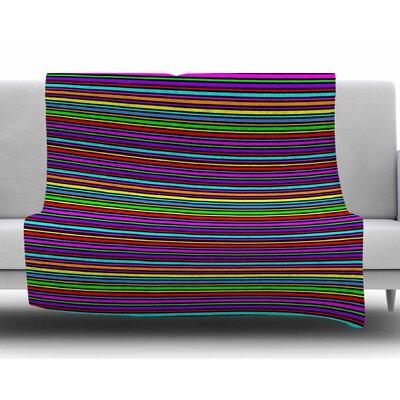 Kolor by Trebam Fleece Blanket Size: 50 W x 60 L