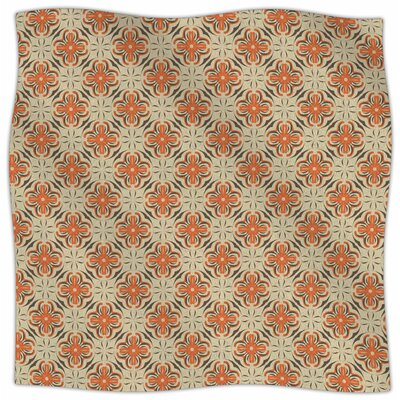 Geometric Tile By Mayacoa Studio Fleece Blanket Size: 60 L x 50 W x 1 D
